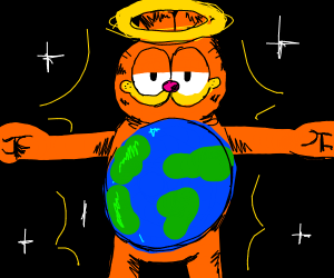 Our global overlord, Garfield
