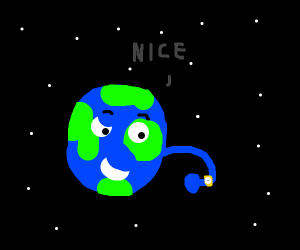 The earth is super happy about its new watch.