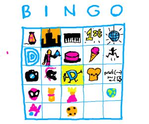 drawception bingo event