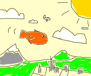 Goldfish in the Clouds
