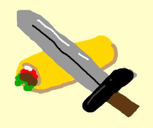 Medieval Burrito