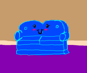 Friendly and lovely couch