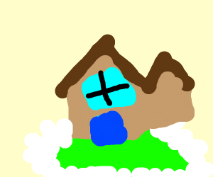 A house with a yard