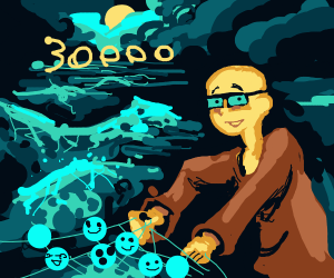 Congrats Chevic (dc user) on 30,000 emotes!