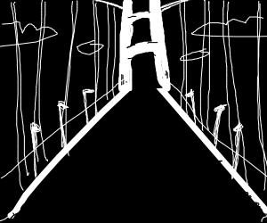 1 pt perspective golden gate bridge