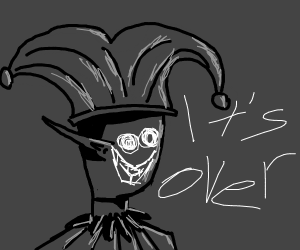 Creepy elven jester