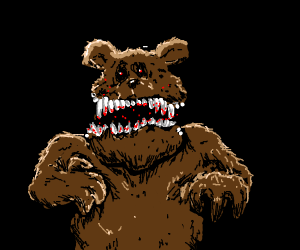 Grizzly with lots of teeth!