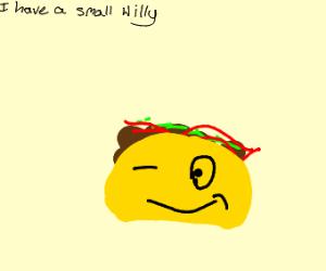 Taco winking