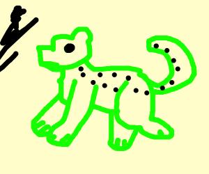 Jaguar from an Alien Planet