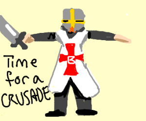 Epic Knight pose