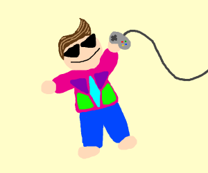 A 90's Kid (without logos)