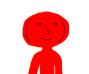 Red man using Lenny Face
