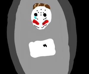Sad Jason is sad, he missed Friday the 13rd