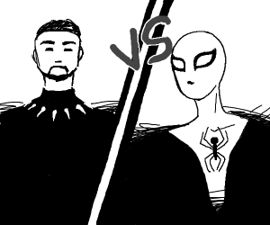 Black Panther VS Spiderman