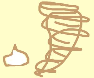 The Garlic Witch Summon's The Garlic-nado
