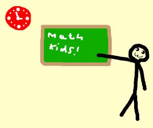 2+2=4-1=3 quick maths