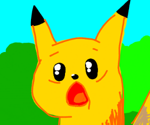 Surprised pikachu and/or thanos