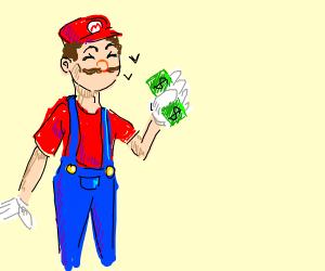 Mario has a dollar