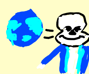 Sans is Earthbound