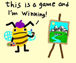 drawception is a game and i'm winning