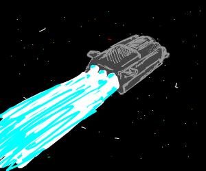 Star Wars Spaceshuttle with Hyperboost