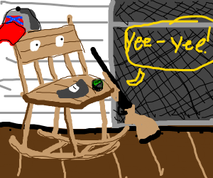 chair who yees its cousin (country chair)
