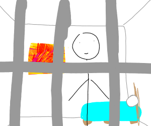 Jail Cell, but nice