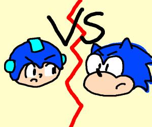 MegaMan vs Sonic