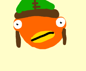 fish dude from fortnite.