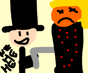 Abraham Lincon gets revenge on Donald Trump