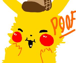 Detective pikachu but even fluffier