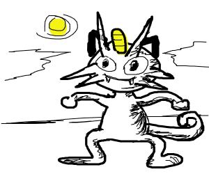 White meowth