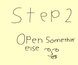Step 1 - Open your purse