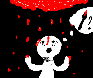 WHY IS IT RAINING PAINT