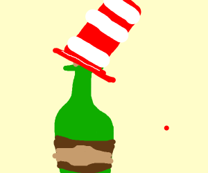 Dr. Seuss style Bottle