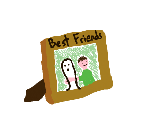 Your best friend is a ghost