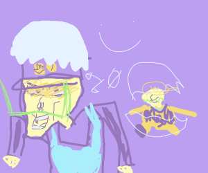 wario and waluigi hatching from eggs