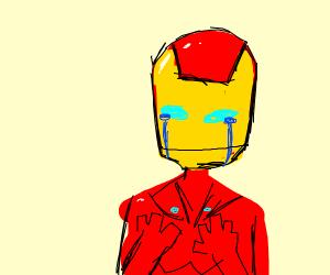 Iron Man is secretly depressed
