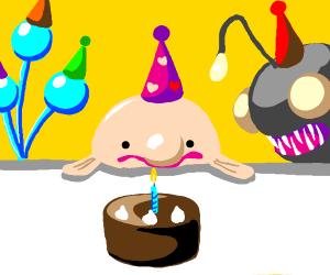 blobfish birthday party