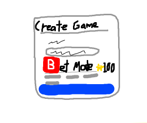 100 coins for bet mode
