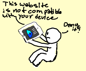 - drawception is not compatible with iPads -