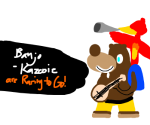 banjo-kazooie in smash!