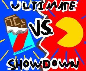 Chocolate vs. PacMan: Ultimate Showdown!