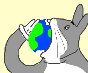 Big Chungus Consumes The Earth Drawception