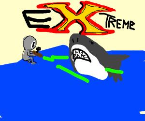 ALIEN LASER FIGHTING SHARK XTREME