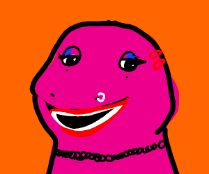 E-Girl Barney the Dinosaur