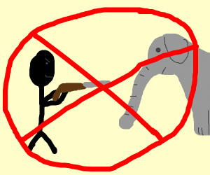 hunting elephants is illegal