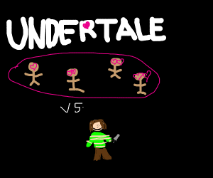 Chara (Undertale) vs the Undertale Fandom