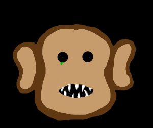 A hideous monster monkey thing