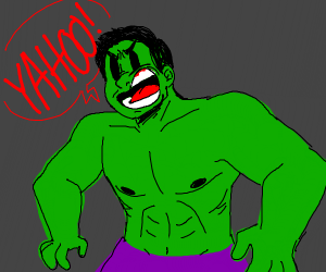 hulk yelling yahoo